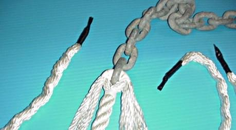 chain rope splice step4