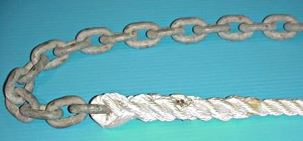chain rope splice step6